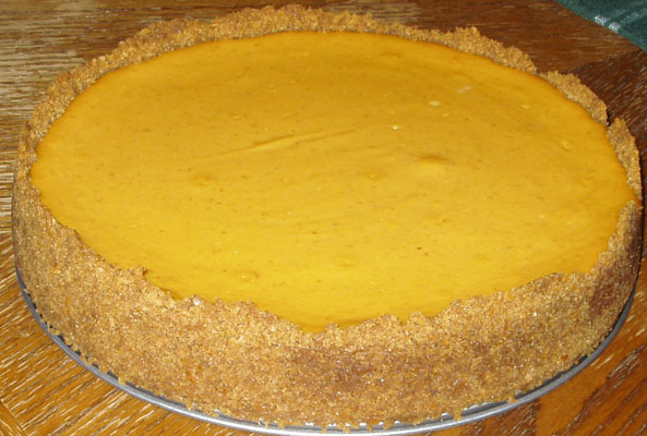 Pumpkin pie filling and cream cheese... so so good.. .mmmm..