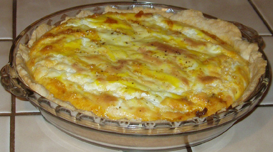 Hamburger Quiche