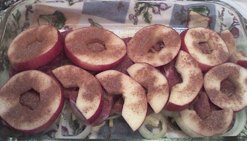 Apple Porkchops II (Uncooked)