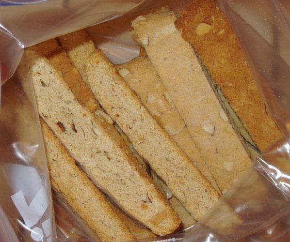 Cinnamon Almond Biscotti