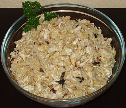 Bulgur Chicken Salad