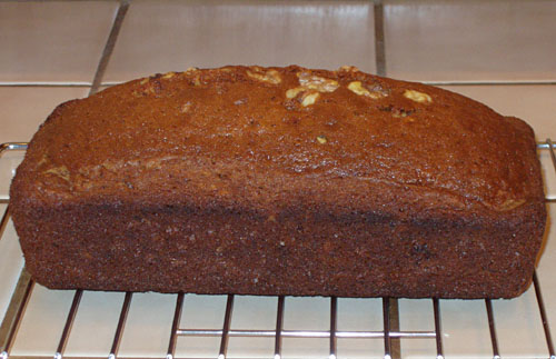 Banana Bread (with walnuts)