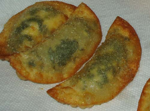 Deep Fried Spaniko-pierogi