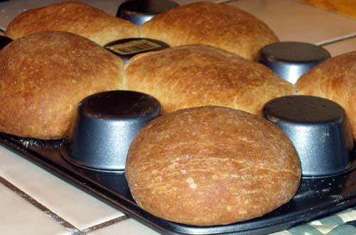 Thyme & Rosemary Brioche Bread Bowls