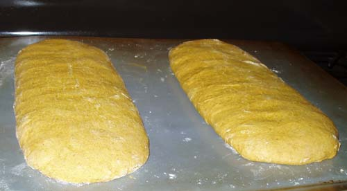 Pumpkin Biscotti Loaves
