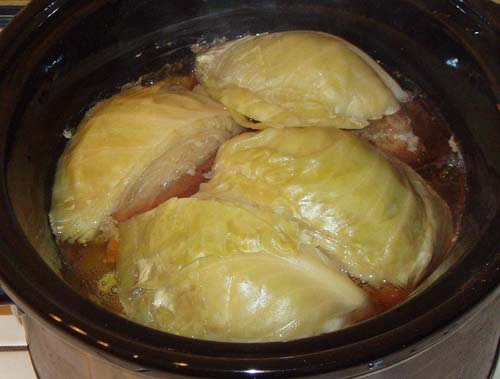 Corned Beef and Cabbage (Cooked)