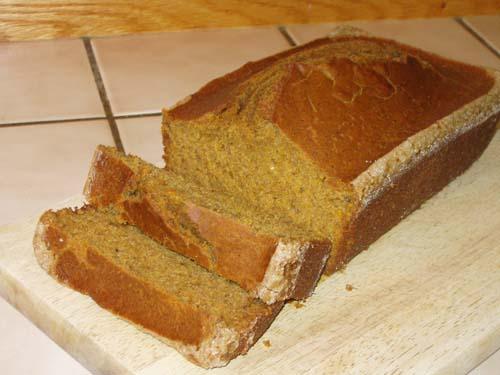 Dad's Pumpkin Bread