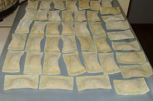 Army of Pot Stickers