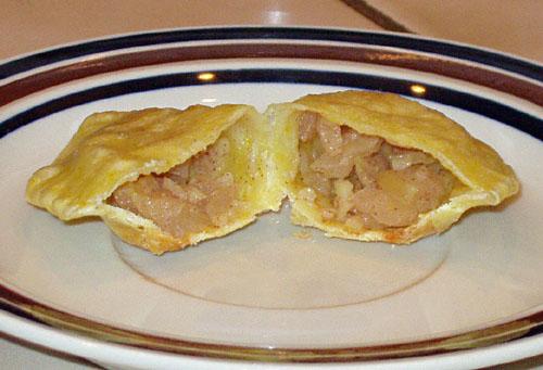 Apple Ginger Pierogi